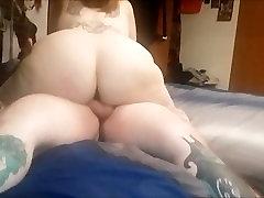 Big Tit Brunette Deep Throats & Fucks