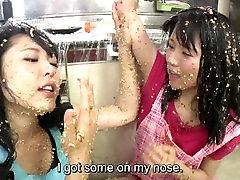 Subtitled extreme swap wiave natto sploshing lesbians