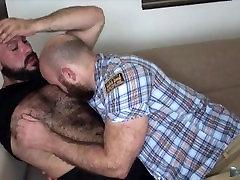 two bears fuck bareback