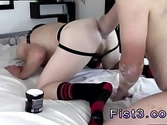 School boys penis balls gay A Proper Stretching Fist Fuck!