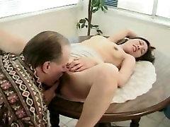 Old man asian girl