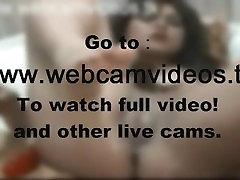 VROČE Teen Masturbira & Squirting Težko Živeti! na www.webcamvideos.tk