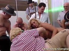 busty muslim girl fuck rap in wild gangbang orgy