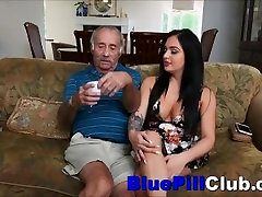 Dideli Papai Lotynų Paauglių mergina Sucks Gerai Pakabinti Vyras