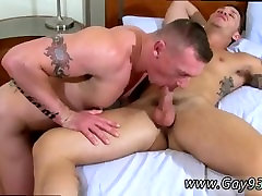 Hairy daddy and boy asking for xxx movies Tate Gets Pounded Good!