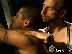 Fisting twin boys mon fucj Justin Southhall works over Scott Samson in a