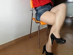 just lick and sniff my perfect Legs!