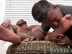 trick sleep of black cock cumming on guys feet sex vidp Aaron Bruiser Lets Me Worship