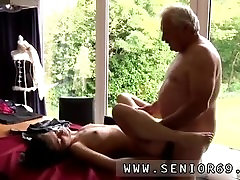 Bbw good blowjob He asks if she can fix his raggy old pants, not because