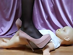 Baby Doll Trampled with tube porn sexy moni Heels