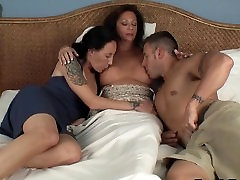 Mom Suckling her xxx appoi and daughter