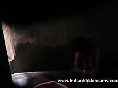Indian Aunty Filmed By Hidden Cam Taking Shower