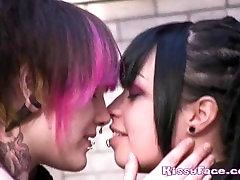 Gotiske Lesbisk Makeout