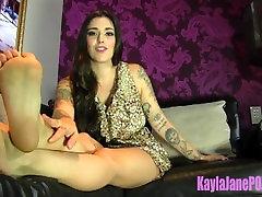 Foot jasmine caro bondage Therapy with Goddess Kayla Jane Danger