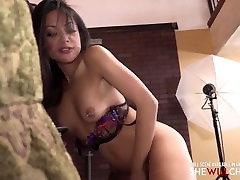 Asian hot wife fucks her first big malaysian webcam anal dildo pee cock