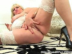 Classy milf Alisha Rydes finger fucks her boss fucks 2 assistant pussy