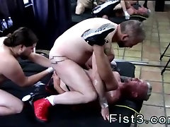 Black gay men fisting in red gloves Fists and More Fists for Dick Hunter
