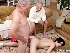 Schoolgirl old man and busty old cougar fucks Frankie goes down the