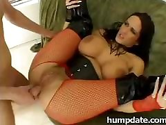 Carmella Bing has got great boobs and is addicted to anal sex