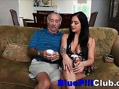 Dideli Papai Latino Paauglių Aria Rose Sucks Ne Didelis Trikampis Senas Senelis