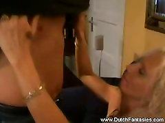 Dutch MILF Liebt Hardcore-Sex