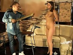 Lovely girl gets asian solo porn band punishment and hot wax torture.