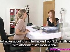 FemaleAgent Tatovert emo licks agent til orgasme