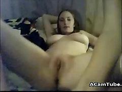 College lesbians have sex on webcam