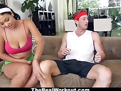Busty seachbrazzers hd video mommy Fucked By The Fitness Trainer
