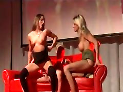public hot clothes shiny shows on stage