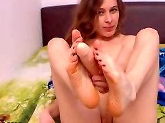 Karšta brunetė mergina masturbations