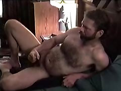 Mature practicing her deepthroat skills Guy Strokes His Cock