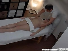 Huge Natural indian xxx actress video on Massage Table