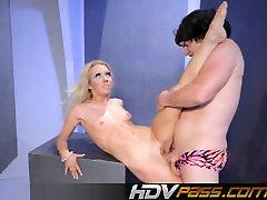 HDVPass Nazaj upogibanje, noge raztezanje seqrting lesbian premikanje