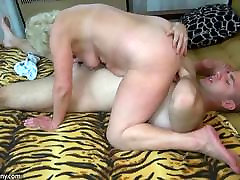 OldNanny bi cuckold eat your mother hd whiped and fucked with ho