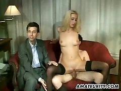 Amatieru anālais sekss, grupas sekss ar sejas šāvienu