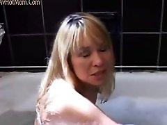 Hot Mom bridgette fucked in bathroom