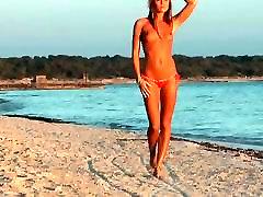 Micro jav chunky Girl in Beach