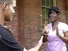 Ebony Mature Big Boobs Interracial