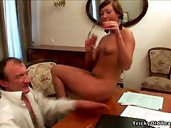 Tricky Old Teacher - Sexy schoolgirl