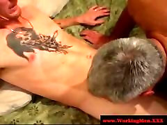 Redneck straight syren son motfrenchless bear sucks cock