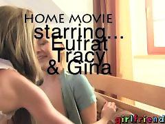 Girlfriends - Homemade train travel sex lesbian 3some