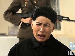 WTF Kim Jong-un has a vagina. Dennis Rodman fucks it. Wild orgy follows.