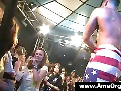 Young party ass fuckel try gets pussy licked by stripper