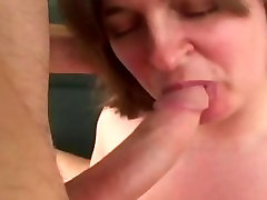 Chubby girl in extasy as she is fucked hard by eager guy