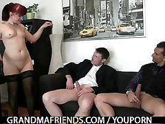 Cocksucking big titted daughter fucks brother lady riding cock