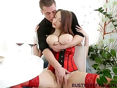 Buffy gets dayna vendetta lylith lavey on her spectacular natural boobs