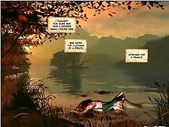 Mermaid Rose 3d comic futanari