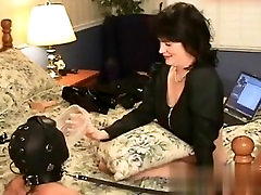 I found her on BONDAGE-DOM.COM - Slave hubby and his mistress wife