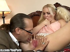 Pigtailed kumi monster Anal Creampied